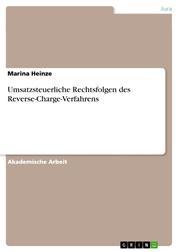 Umsatzsteuerliche Rechtsfolgen des Reverse-Charge-Verfahrens