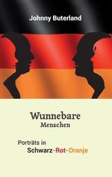 Wunnebare Menschen - Portraits in Schwarz-Rot-Oranje
