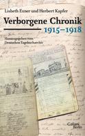 Herbert Kapfer: Verborgene Chronik 1915-1918 ★★★★