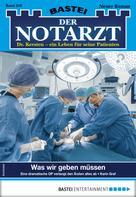 Karin Graf: Der Notarzt 358 - Arztroman