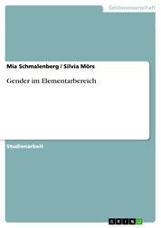 Gender im Elementarbereich