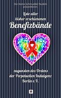 Homo Schmuddel Nudeln: Liste aller bisher erschienen Benefizbände ★★★