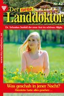 Tessa Hofreiter: Der neue Landdoktor 42 – Arztroman ★★★★★