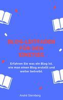 André Sternberg: Blog-Leitfaden für den Einstieg