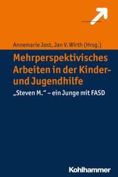 """Mehrperspektivisches Arbeiten in der Kinder- und Jugendhilfe - """"Steven M."""" - ein Junge mit FASD"""