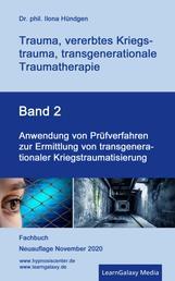 Anwendung von Prüfverfahren zur Ermittlung von transgenerationaler Kriegstraumatisierung