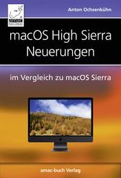 macOS High Sierra Neuerungen - im Vergleich zu macOS Sierra