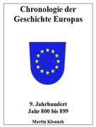 Martin Klonnek: Chronologie Europas 9