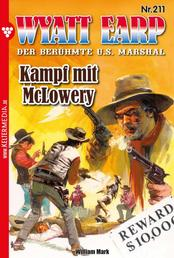 Wyatt Earp 211 – Western - Kampf mit McLowery
