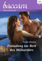 Fiona Brand: Einladung ins Bett des Milliardärs ★★★★