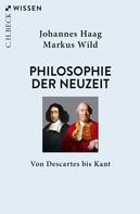 Johannes Haag: Philosophie der Neuzeit