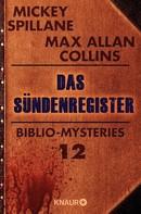 Mickey Spillane: Das Sündenregister ★★★★
