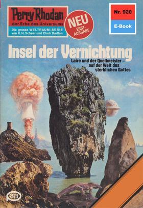 Perry Rhodan 920: Insel der Vernichtung