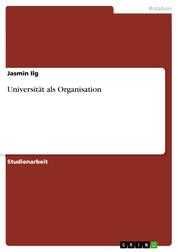 Universität als Organisation