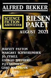 Science Fiction Abenteuer Riesen Paket August 2021