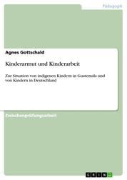 Kinderarmut und Kinderarbeit - Zur Situation von indigenen Kindern in Guatemala und von Kindern in Deutschland