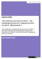 """Stefanie Hiller: """"Wir arbeiten mit dem Geobrett"""" - Ein handlungsorientierter Umgang mit dem Geobrett - Klassenstufe 2"""