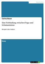 Eine Verbindung zwischen Yoga und Schamanismus - Beispiel altes Indien
