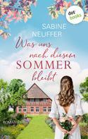 Sabine Neuffer: Stolz und Stolpersteine ★★★★