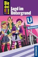 Mira Sol: Die drei !!!, 22, Jagd im Untergrund (drei Ausrufezeichen)