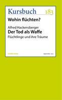 Alfred Hackensberger: Der Tod als Waffe ★★★★★