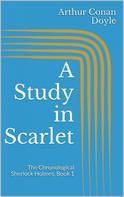 Arthur Conan Doyle: A Study in Scarlet