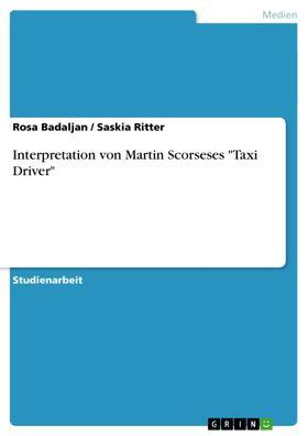 """Interpretation von Martin Scorseses """"Taxi Driver"""""""