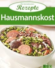 Hausmannskost - Die beliebtesten Rezepte