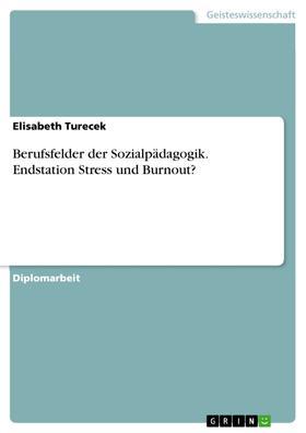 Berufsfelder der Sozialpädagogik. Endstation Stress und Burnout?
