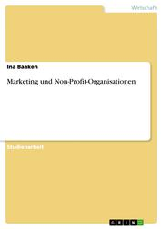 Marketing und Non-Profit-Organisationen