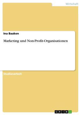Marketing und Non-Profit-Organisationen