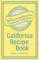 Ladies of California: California Recipe Book