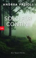 Andrea Fazioli: Solo für Contini ★★★