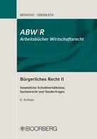 Axel Benning: Bürgerliches Recht II