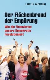 Der Flächenbrand der Empörung - Wie die Finanzkrise unsere Demokratien revolutioniert