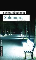 Sandra Dünschede: Solomord ★★★★