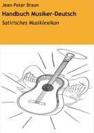 Jean-Peter Braun: Handbuch Musiker-Deutsch