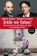 Roberto Saviano: Erklär mir Italien! ★★★★