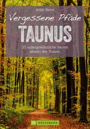 Wanderführer Taunus: 35 Touren abseits des Trubels im wunderschönen Taunus - Wandern auf vergessenen Pfaden mit Panorama, Gipfeltouren und ebenen Rundwegen