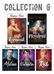 Regina Mars Collection 6 - 2 Romane, 3 Kurzromane: Heiße Keramik, Das Mondmal, Club der dichten Dichter 1-3