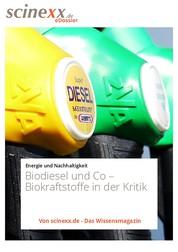 Biodiesel und Co - Biokraftstoffe in der Kritik