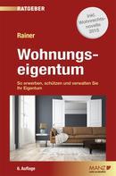 Dr. Herbert Rainer: Wohnungseigentum
