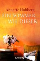 Annette Hohberg: Ein Sommer wie dieser ★★★★