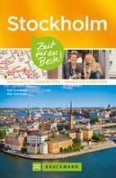 Max Schröder: Bruckmann Reiseführer Stockholm: Zeit für das Beste