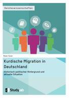 Rüsen Cacan: Kurdische Migration in Deutschland. Historisch-politischer Hintergrund und aktuelle Situation