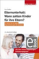 Finn Zwißler: Elternunterhalt: Wann zahlen Kinder für ihre Eltern?