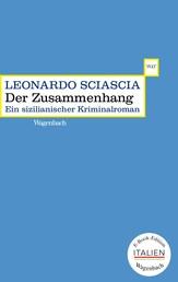 Der Zusammenhang - Ein sizilianischer Kriminalroman