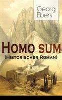Georg Ebers: Homo sum (Historischer Roman)