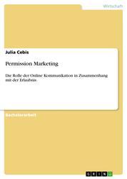 Permission Marketing - Die Rolle der Online Kommunikation in Zusammenhang mit der Erlaubnis
