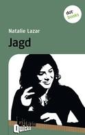 Natalie Lazar: Jagd - Literatur-Quickie